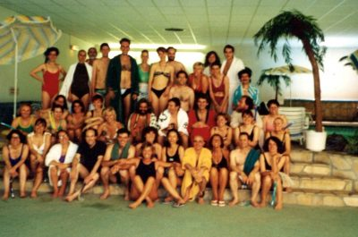 1992-PARIS-FORMATION OSE-REBITH EN PISCINE